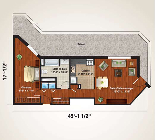 Penthouse plan 1