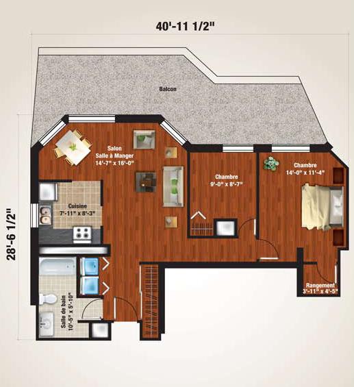 Penthouse plan 3