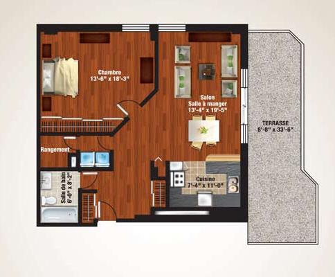 Penthouse plan 8